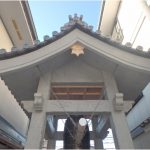 信行寺鐘楼完成2